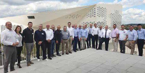 Les membres de l'ADFRI à Bordeaux en octobre 2019.